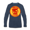 Spokane Flyers Red Design Long Sleeve T-Shirt (Premium) - navy