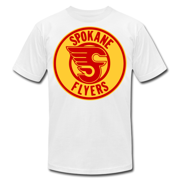 Spokane Flyers Red Design T-Shirt (Premium) - white