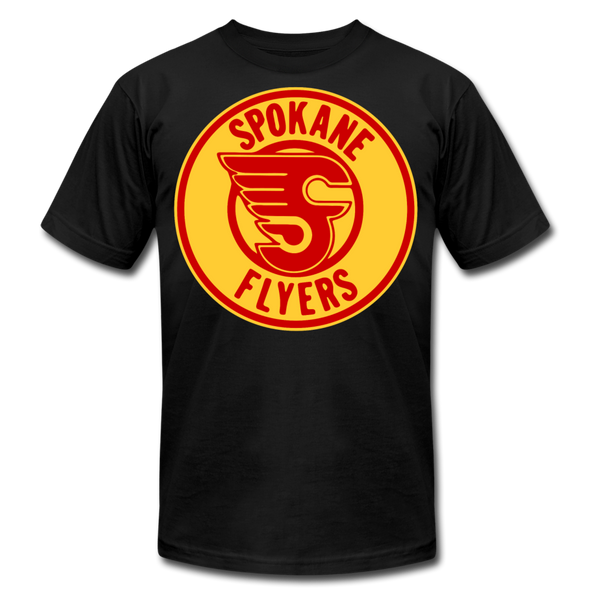 Spokane Flyers Red Design T-Shirt (Premium) - black
