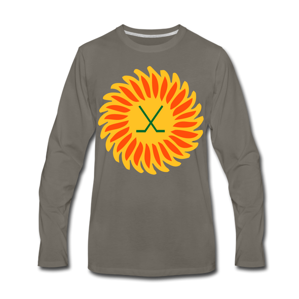 Suncoast Suns Long Sleeve T-Shirt (Premium) - asphalt gray