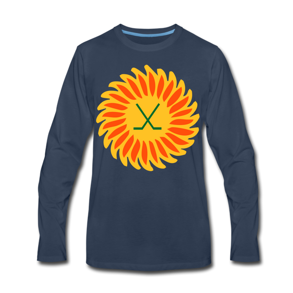 Suncoast Suns Long Sleeve T-Shirt (Premium) - navy
