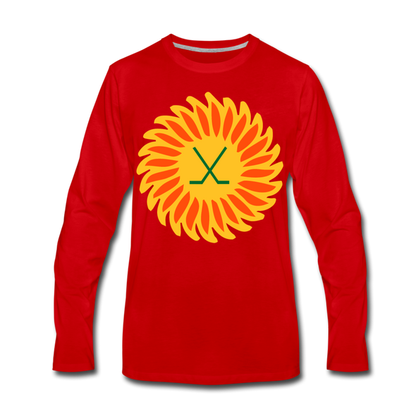 Suncoast Suns Long Sleeve T-Shirt (Premium) - red