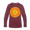 Suncoast Suns Long Sleeve T-Shirt (Premium) - heather burgundy