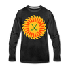 Suncoast Suns Long Sleeve T-Shirt (Premium) - charcoal gray