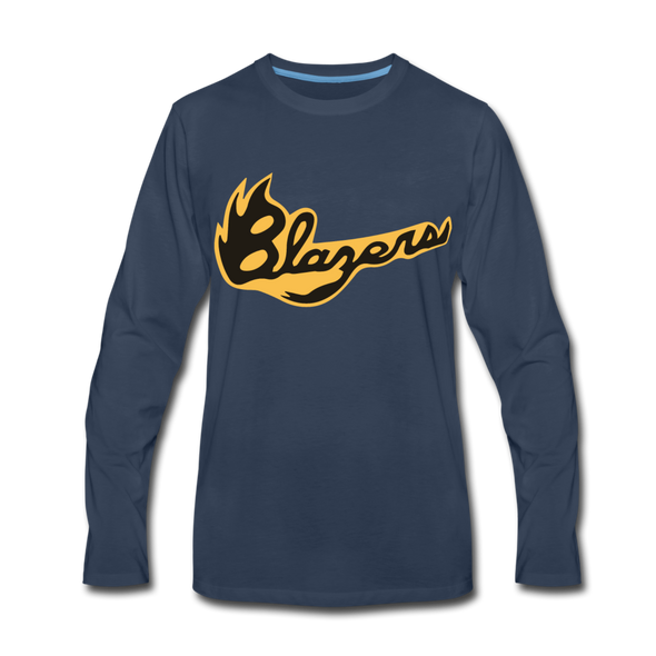 Syracuse Blazers Long Sleeve T-Shirt (Premium) - navy