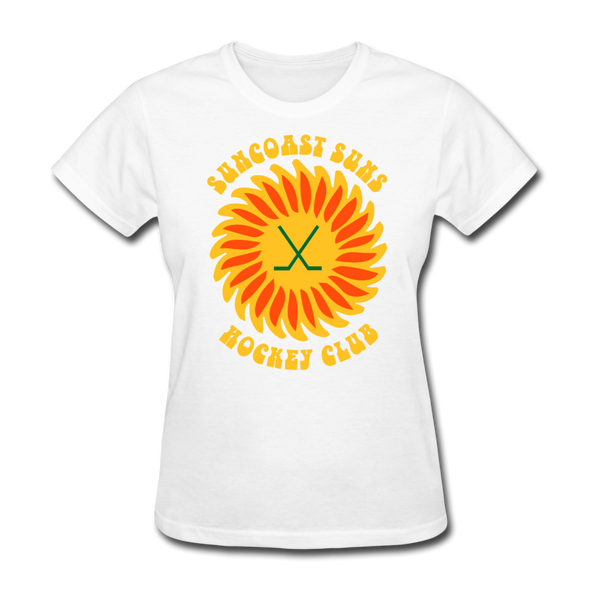 Suncoast Suns Women's T-Shirt - white