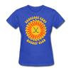 Suncoast Suns Women's T-Shirt - royal blue