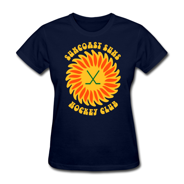 Suncoast Suns Women's T-Shirt - navy