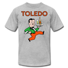 Toledo Buckeyes T-Shirt (Premium) - heather gray