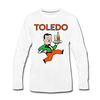 Toledo Buckeyes Long Sleeve T-Shirt (Premium) - white