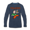 Toledo Buckeyes Long Sleeve T-Shirt (Premium) - navy