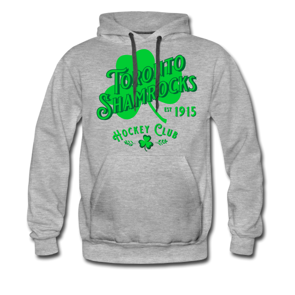 Toronto Shamrocks Hoodie (Premium) - heather gray