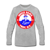 Troy Uncle Sam's Trojans Long Sleeve T-Shirt - heather gray