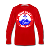 Troy Uncle Sam's Trojans Long Sleeve T-Shirt - red