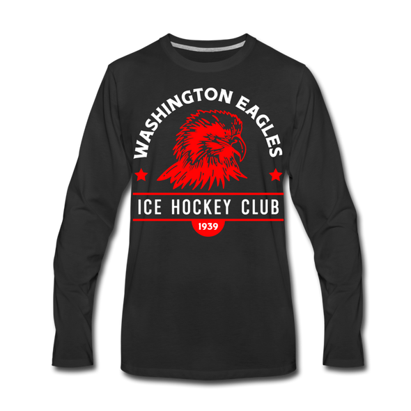 Washington Eagles Long Sleeve T-Shirt (Premium) - black