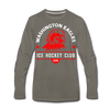 Washington Eagles Long Sleeve T-Shirt (Premium) - asphalt gray