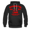 Washington Lions Dated Hoodie (Premium, EHL) - black