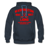 Washington Lions Dated Hoodie (Premium, EHL) - navy