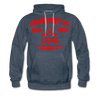 Washington Lions Dated Hoodie (Premium, EHL) - heather denim