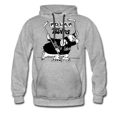 Winston-Salem Polar Twins Hoodie (Premium) - heather gray