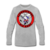 Albuquerque Six Guns Long Sleeve T-Shirt (Premium) - heather gray