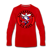Albuquerque Six Guns Long Sleeve T-Shirt (Premium) - red