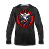 Albuquerque Six Guns Long Sleeve T-Shirt (Premium) - charcoal gray