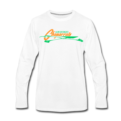 Albuquerque Chaparrals Long Sleeve T-Shirt (Premium) - white