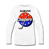 Albany Choppers Long Sleeve T-Shirt (Premium) - white