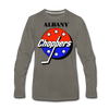 Albany Choppers Long Sleeve T-Shirt (Premium) - asphalt gray