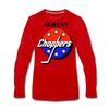 Albany Choppers Long Sleeve T-Shirt (Premium) - red