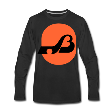 Baltimore Blades Long Sleeve T-Shirt (Premium) - black