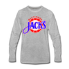 Baltimore Skipjacks Alt Long Sleeve T-Shirt (Premium) - heather gray