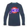 Baltimore Skipjacks Alt Long Sleeve T-Shirt (Premium) - navy