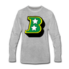 Birmingham South Stars B Long Sleeve T-Shirt (Premium) - heather gray