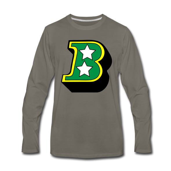 Birmingham South Stars B Long Sleeve T-Shirt (Premium) - asphalt gray