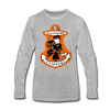 Baltimore Clippers Long Sleeve T-Shirt (Premium) - heather gray
