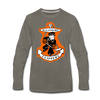 Baltimore Clippers Long Sleeve T-Shirt (Premium) - asphalt gray