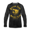 Boston Cubs Long Sleeve T-Shirt (Premium) - charcoal gray