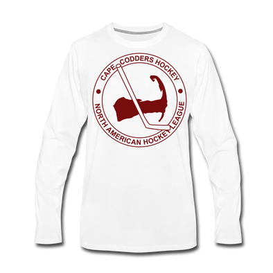 Cape Codders Long Sleeve T-Shirt (Premium) - white
