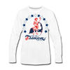 Cape Cod Freedoms Long Sleeve T-Shirt (Premium) - white
