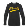 Charlotte Clippers Long Sleeve T-Shirt (Premium) - black