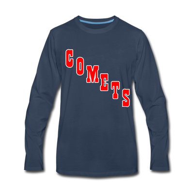 Clinton Comets Long Sleeve T-Shirt (Premium) - navy
