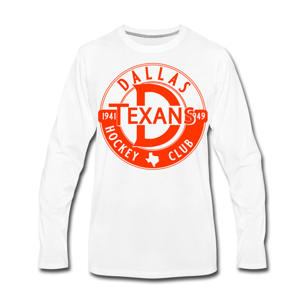 Dallas Texans Circular Dated T-Shirt (Premium) - white