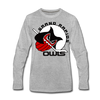 Grand Rapids Owls Long Sleeve T-Shirt (Premium) - heather gray