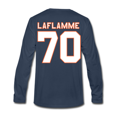 Halifax Highlanders Laflamme 70 Long Sleeve T-Shirt (Premium) - navy