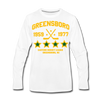 Greensboro Hockey Club Long Sleeve T-Shirt (Premium) - white