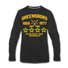 Greensboro Hockey Club Long Sleeve T-Shirt (Premium) - black