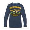 Greensboro Hockey Club Long Sleeve T-Shirt (Premium) - navy
