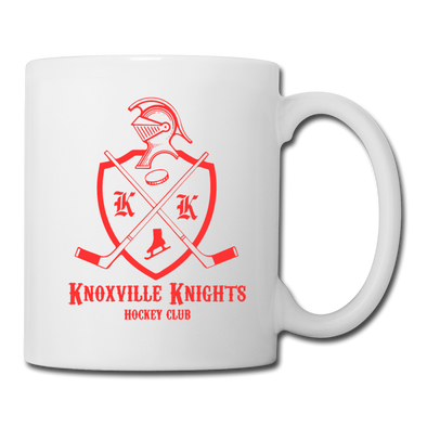 Knoxville Knights Coat of Arms Mug - white
